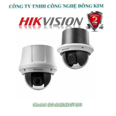 Camera Hikvision Speed Dome 2.0MP DS-2AE4215T-D3 Zoom 15X