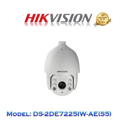Camera IP Speed Dome Hikvision 2.0MP DS-2DE7225IW-AE(S5)