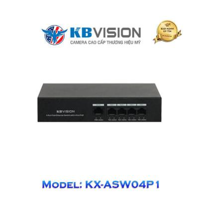 Switch Poe Kbvision 5 Port KX-ASW04P1