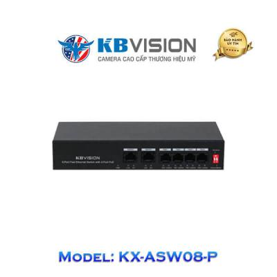 Switch Poe Kbvision 10 Port KX-ASW08-P