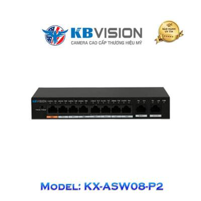 Switch Poe Kbvision 10 Port KX-ASW08-P2