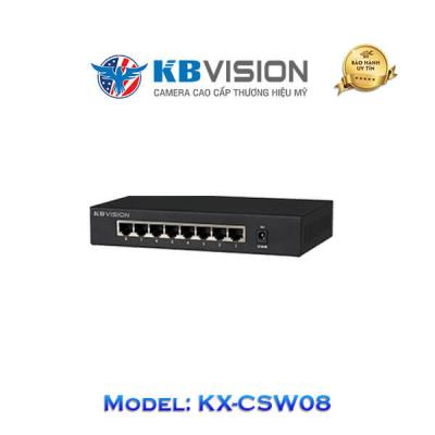 Switch Kbvision 8 Port KX-CSW08