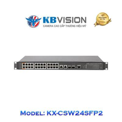 Switch Poe Kbvision 26 Port KX-CSW24SFP2