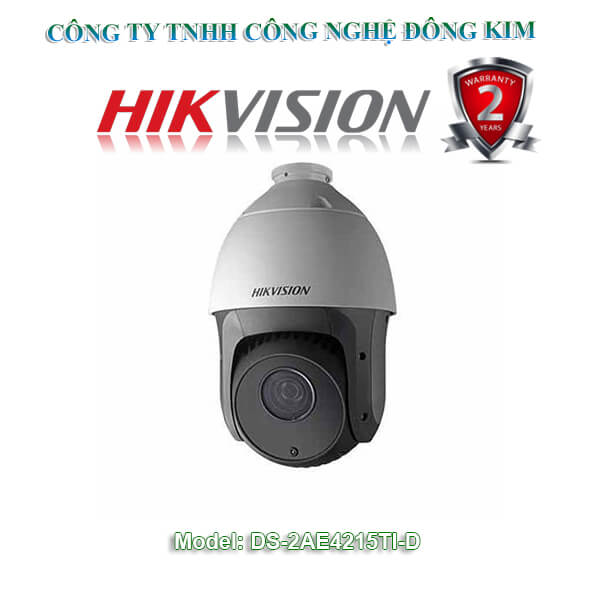 Camera Hikvision Speed Dome 2.0MP DS-2AE4215TI-D Zoom 15X
