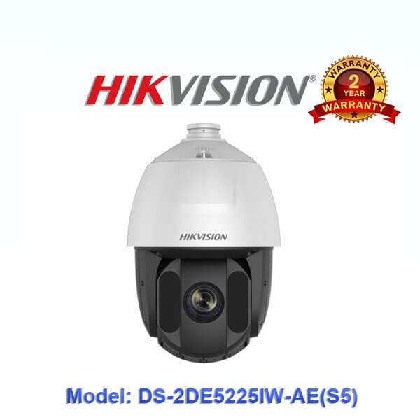 Camera IP Speed Dome Hikvision 2.0MP DS-2DE5225IW-AE(S5)