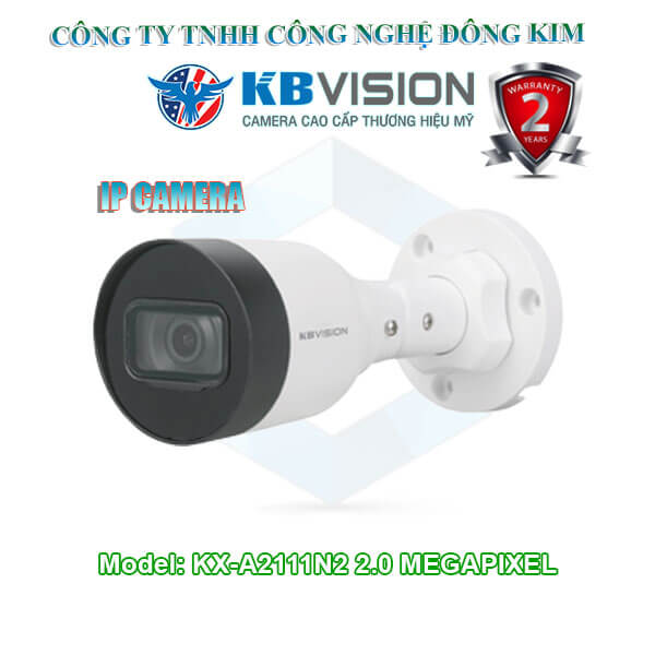 Camera IP KBVISION 2.0MP KX-A2111N2