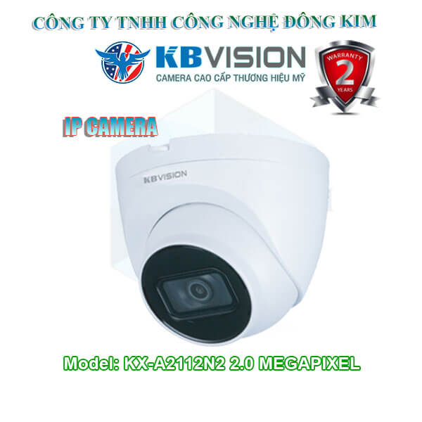 Camera IP KBVISION 2.0MP KX-A2112N2