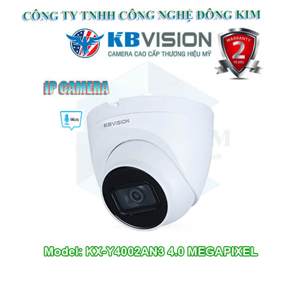 Camera IP KBVISION 4.0MP KX-Y4002AN3