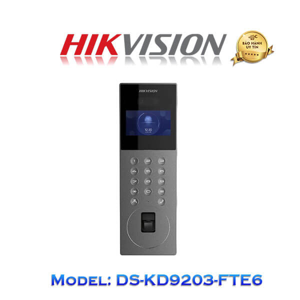 Camera Chuông Cửa IP Hikvision DS-KD9203-FTE6 Giá Rẻ