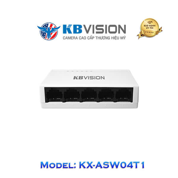Switch Kbvision 5 Port KX-ASW04T1
