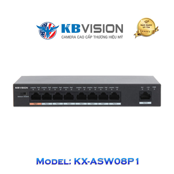 Switch Poe Kbvision 9 Port KX-ASW08P1