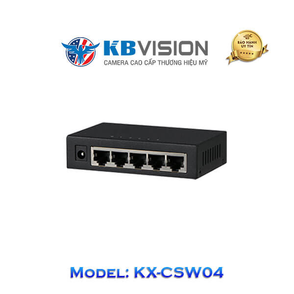Switch Kbvision 5 Port KX-CSW04