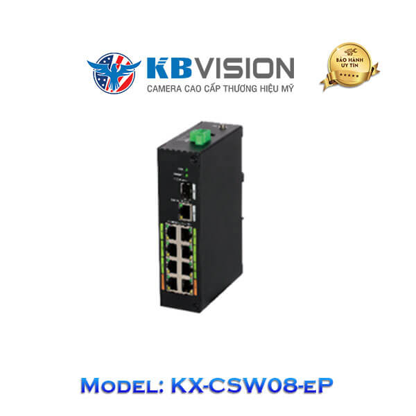 Switch ePoe Kbvision 9 Port KX-CSW08-eP