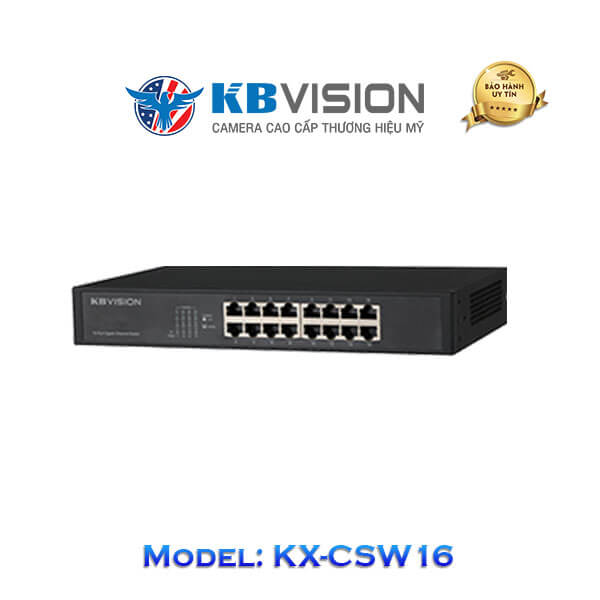 Switch Kbvision 16 Port KX-CSW16