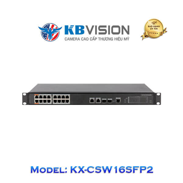 Switch Poe Kbvision 18 Port KX-CSW16SFP2